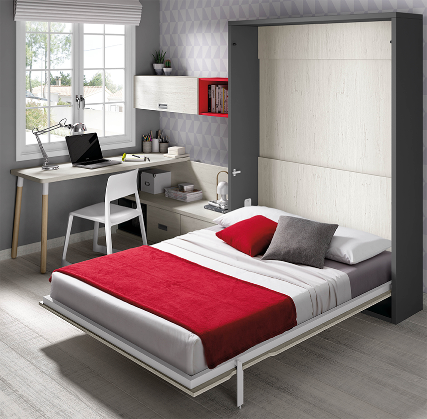 Cama matrimonio plegable
